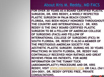 Tummy Tuck (Abdominoplasty) - Dr. Kris Reddy FACS