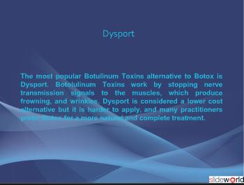Botox and Dysport - Dr Kris Reddy FACS