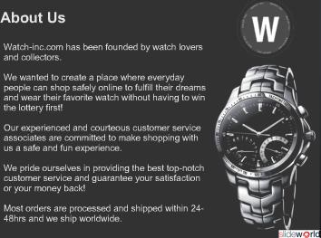 Watch-Inc - High Quality Swiss Replica Watches