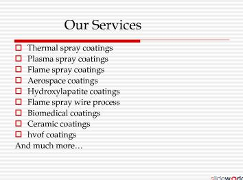 Thermal spraying  Thermal barrier coatings