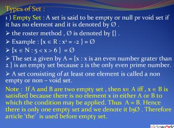 Set Theory Basic 