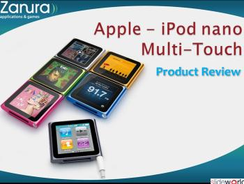 New iPod nano with Multi-Touch Product Review