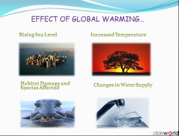 Global Warming An Issue