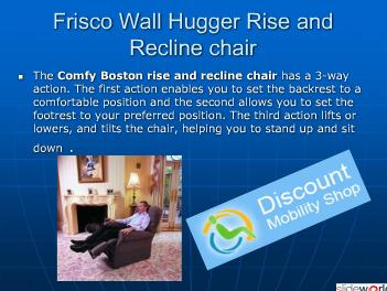 Rise Recline lift Amchair