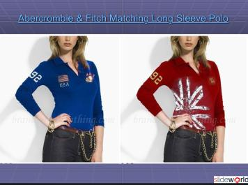Abercrombie  Fitch Matching Long Sleeve Polo