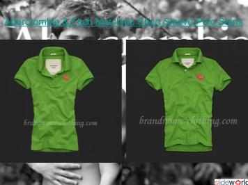 Abercrombie  Fitch Matching Short Sleeve Polo Shirts
