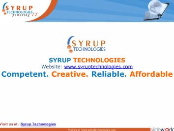 Syrup Technologies India