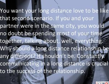 Long Distance Relationship Advice Optimizing Communication