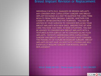 Dr. Kris Reddy reviews breast implant exchange in West Palm Beach, Florida