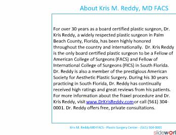 Dr. Kris Reddy reviews fraxel laser in West Palm Beach, Florida