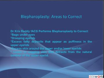 Otoplasty and Blepharoplasty Facial Refinement