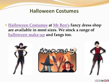 Halloween Costumes  Accessories