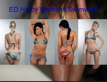 ED Hardy Womens Swimwear