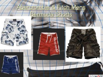Abercrombie  Fitch Mens Bermuda Shorts
