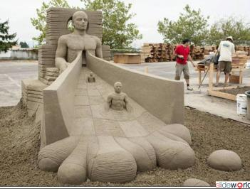 Amazing sand_sculptures