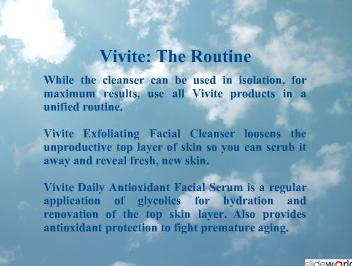 Dr Kris Reddy Reviews Vivite Skincare