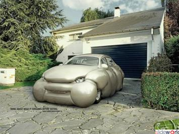 If CARS would gain WEIGHT they will look like this