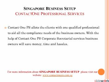 Singapore Business Setup