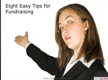 Fundraising For-Profits (Modern) PowerPoint Content