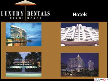 Luxury Vacation Rentals Miami Beach  South Beach