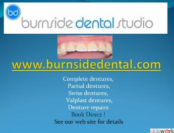 Quality Dentures Direct From The Manufacturer