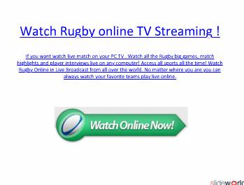 Watch Sale vs London Irish live Rugby online streaming and TV Channels .