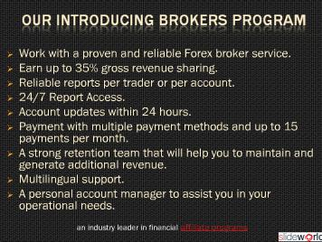 forex partners program