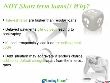 The Real Facts About Short Term Loans