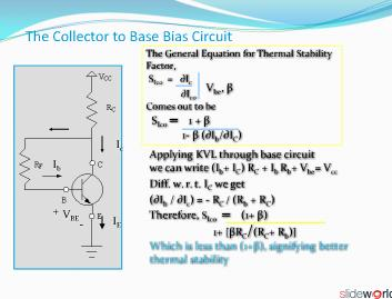 thermal stability of transistor