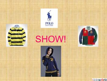 Ralph Lauren Polo Clothes