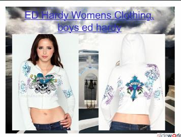 ED Hardy Womens Clothing, boys ed hardy