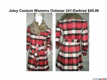 Discount Juicy Couture Outerwear For Christmas