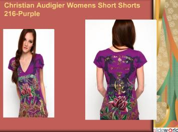 Christian Audigier womens short