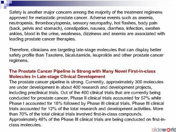 Prostate Cancer - France Drug Forecasts and Treatment Analysis to 2020