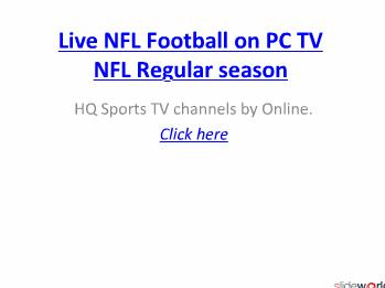 Watch Jacksonville vs Tennessee live NFL  stream .