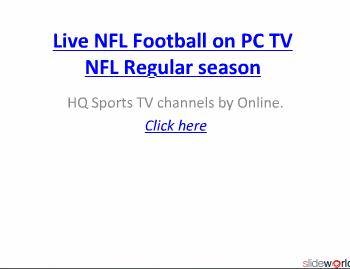Watch Chicago Vs Detroit live NFL   05-12-2010.