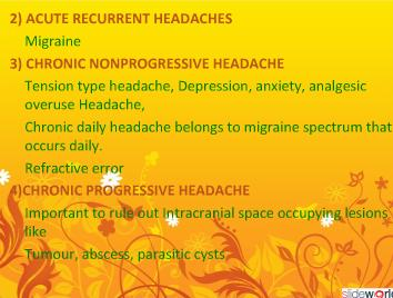 Headache In Pediatrics