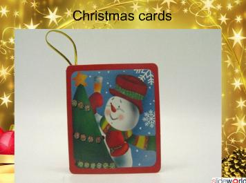 FREE Christmas Gifts-Christmas cards