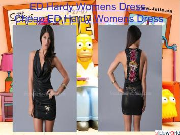ED Hardy Womens Dress, Cheap ED Hardy Womens Dress
