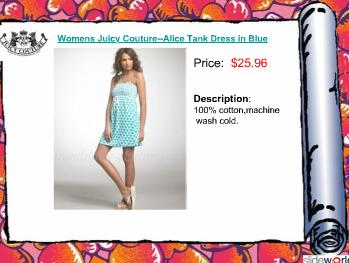 My Favorite Juicy Couture Womens Dress Clothes Online Shop