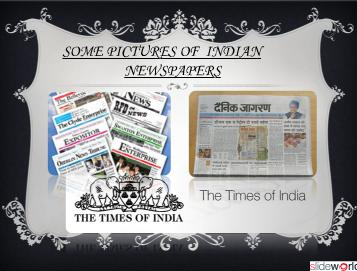 NEWS PAPER IN INDIA