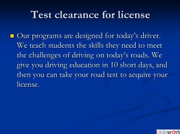 Driving School Calgary