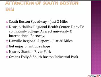 South Boston Motels  Hotels