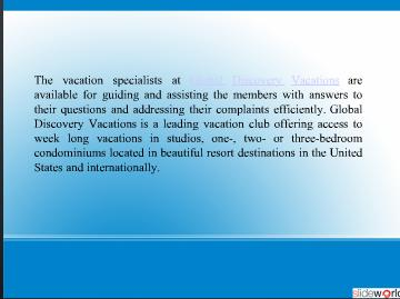Global Discovery Vacations – Committed to Meeting the Expectations of Its Members