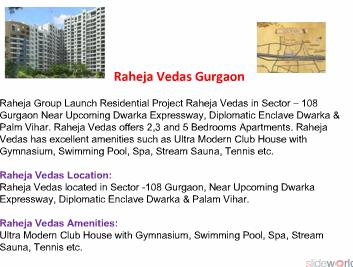 RAHEJA VEDAS - Raheja Vedas Gurgaon - RAHEJA VEDAS - Raheja Vedas