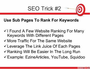 3 SEO Tricks To Generate Web Traffic