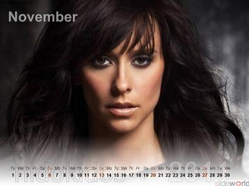 Jennifer Love Hewitt Exclusive Calendar 2011