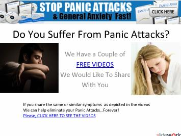 treatments for anxiety disorder, how to deal with stress, signs of panic disorder, panic attack treatments, dealing with stress