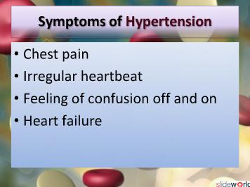 SignsSymptoms of Hypertension