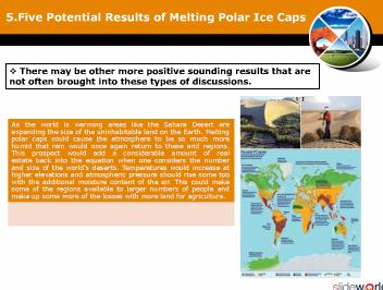 Five Potential Results of Melting Polar Ice Caps_Global warming